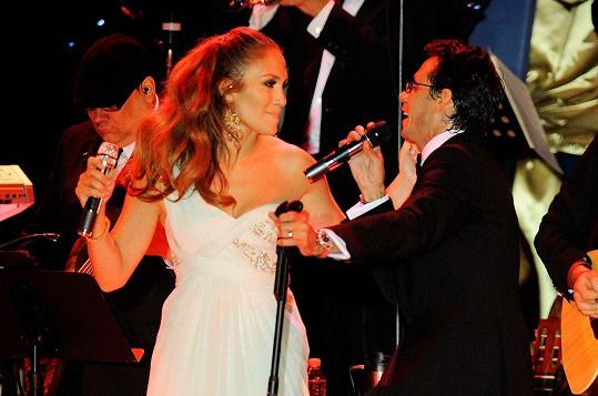 JLo a její tehdejší manžel Marc Anthony v roce 2009 vystoupili na inauguračním plese ve Washingtonu.