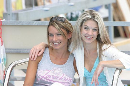 Bendová a Laurinová v roce 2005
