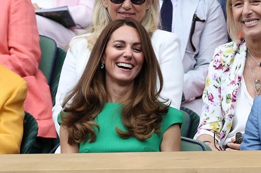 Vévodkyně Kate je vášnivou tenisovou fanynkou.