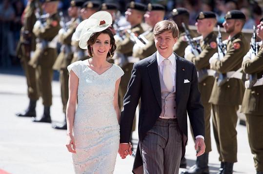 Princ s princeznou na snímku z loňského června