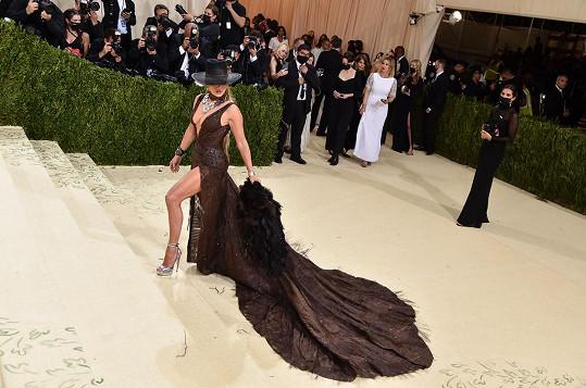 Jennifer Lopez na Met Gala.