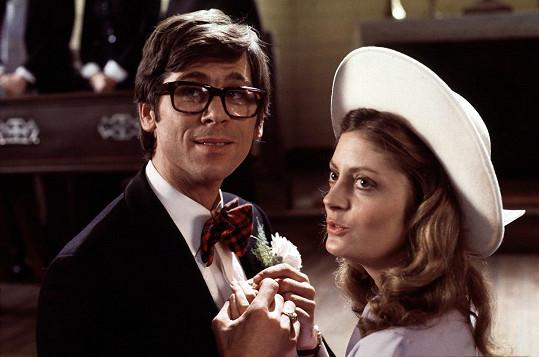 Takhle herečka vypadala před 40 lety.