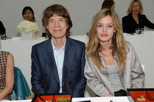 A tátou Mickem Jaggerem