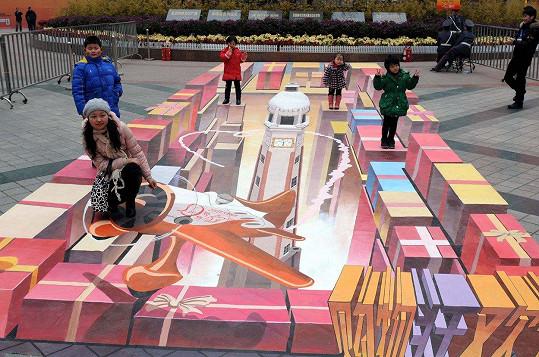 3D kresba z čínského Čchung-čchingu