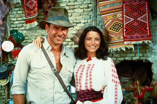 Karen Allen si zahrála lásku Indyho Marion, objevila se v prvním a zatím posledním filmu.