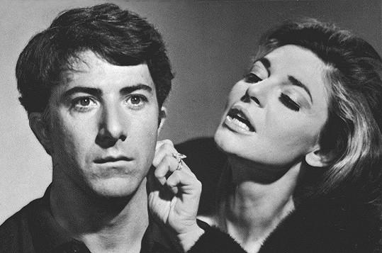Dustin Hoffman a Anne Bancroft ve filmu Absolvent