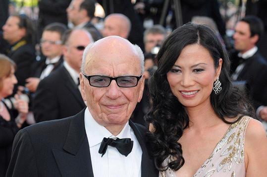 Deng s exmanželem Rupertem Murdochem