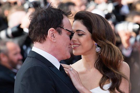 Láskyplně se k sobě tiskli už v Cannes.