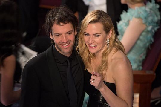 Kate Winslet s manželem Edwardem Abelem Smithem