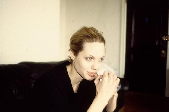 Herečku fotil její dealer Franklin Meyer.
