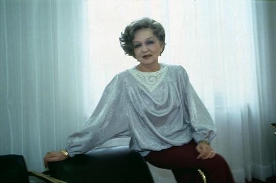 Blanka Bohdanová na archivním snímku ze 70. let