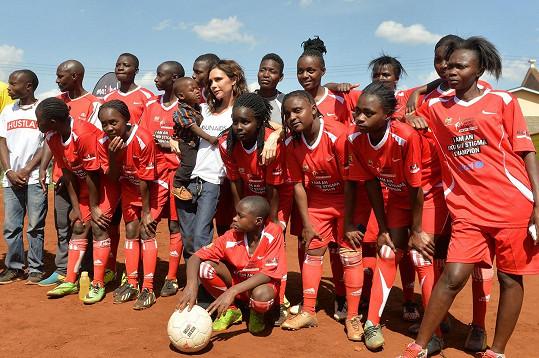 Victoria je ambasadorkou dobré vůle UNAIDS.
