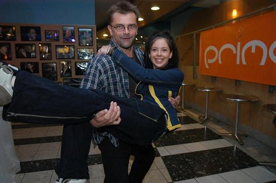 Silvie Koblížková a Roman Štolpa si zahráli v Rodinných poutech.