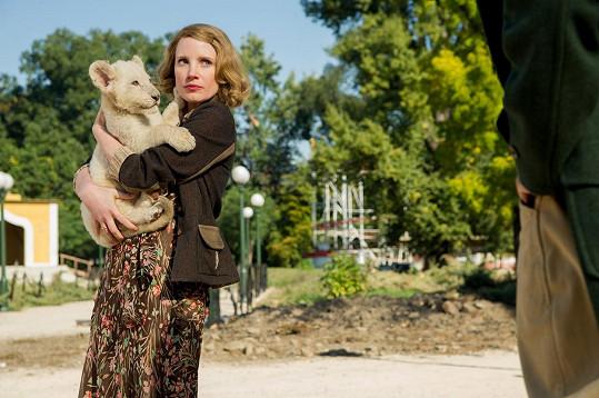 Film Úkryt v zoo Jessica natáčela v Praze.