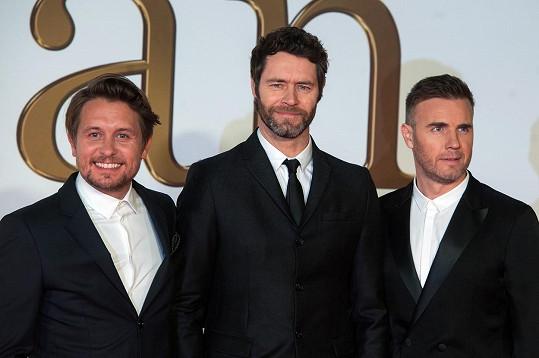Z Take That zbyla trojice nejvěrnějších členů.