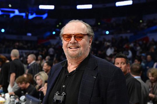Jack Nicholson slaví 84. narozeniny.