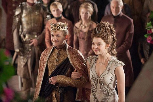 Natalie jako Margaery Tyrell v populárním seriálu Hra o trůny