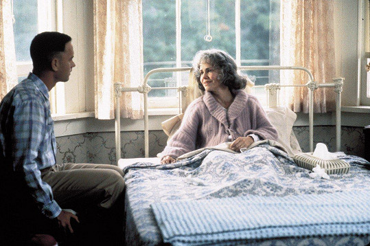 S Tomem Hanksem, jenž za roli získal Oscara.