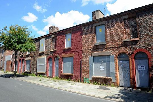 Řadové domky v Liverpoolu měl s dětstvím spojené Ringo Starr.