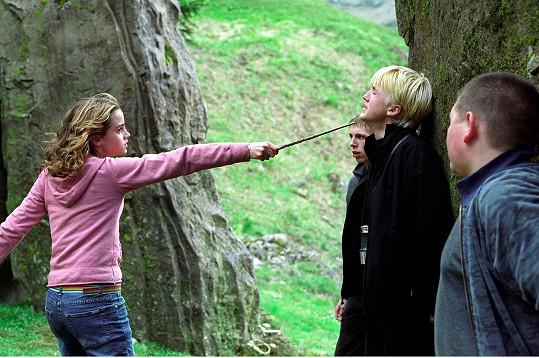 Jako Hermiona a Draco v Harrym Potterovi