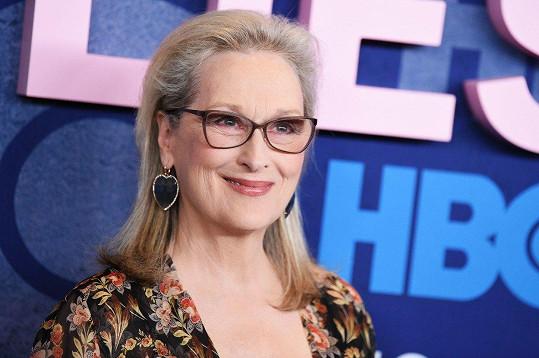 Meryl Streep bude hvězdou druhé řady oblíbeného seriálu.