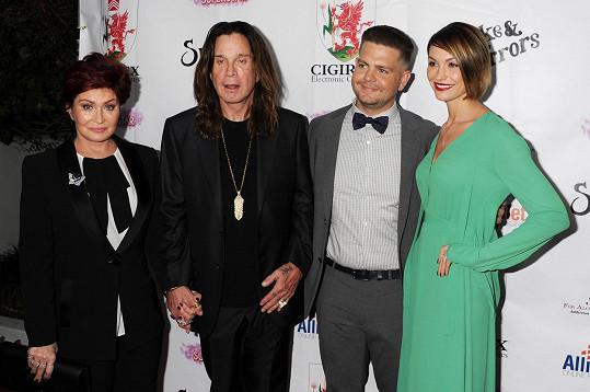 Jack s manželkou a svými rodiči