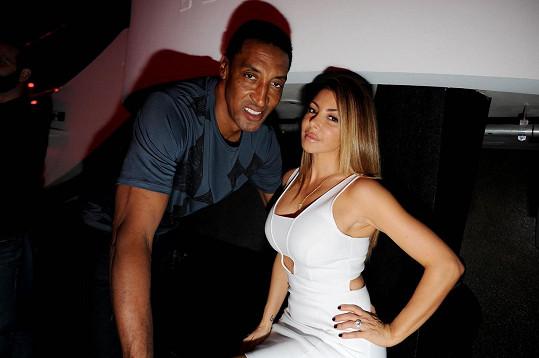 S bývalým manželem, basketbalistou Scottiem Pippenem
