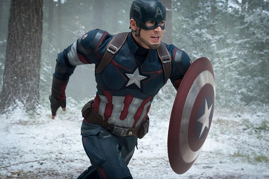 Chris Evans se brzy předvede ve filmu Avengers: Age of Ultron