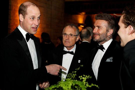 Na večírku se potkali s princem Williamem.