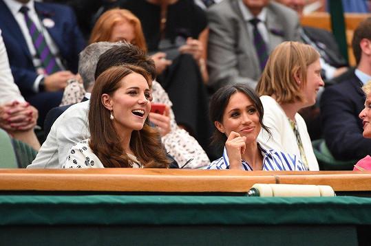 Kate je velkou tenisovou fanynkou.