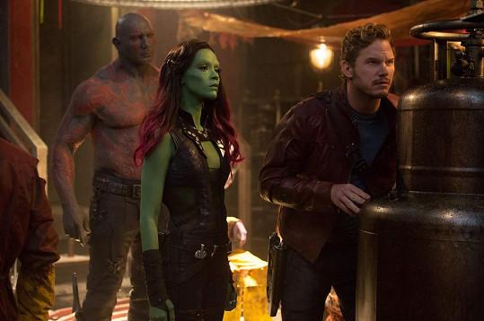 Jako Gamora ve Strážcích Galaxie