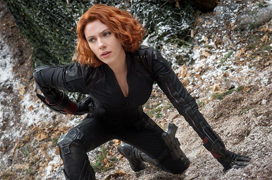 Jako Black Widow v sáze Avengers