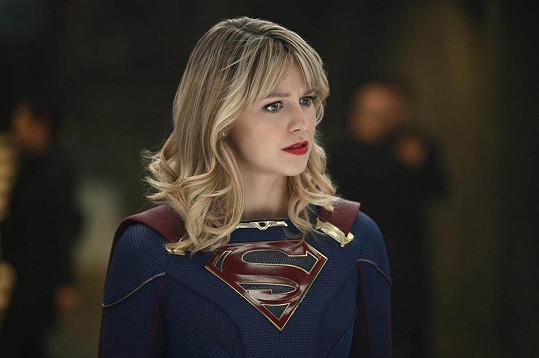 Benoist je hvězdou seriálu Supergirl.