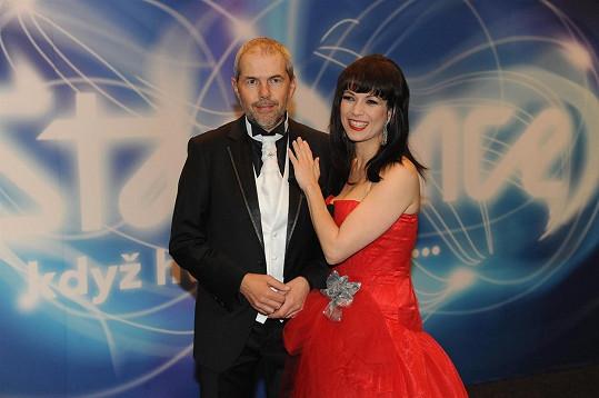 Eben s Kostkovou v roce 2010