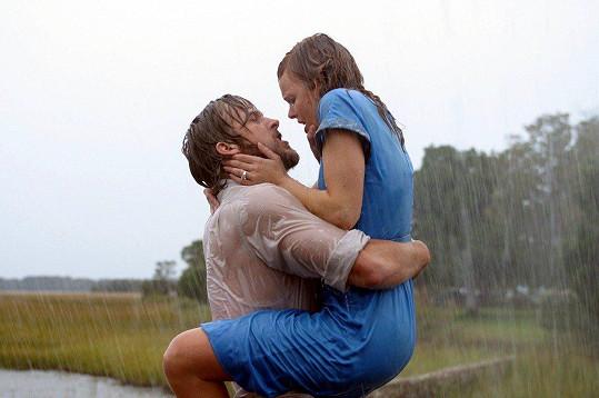 Ryan Gosling a Rachel McAdams se nesnášeli, až se zamilovali.