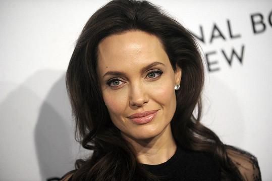 """""""Rozhodla jsem se připojit k Instagramu a být hlasem těch, kterým jsou odpírána základní lidská práva,"""" vzkázala Jolie prostřednictvím svého nového účtu."""