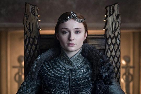 Hereččina postava Sansa Stark se šťastné veselky ve Hře o trůny nedočkala.
