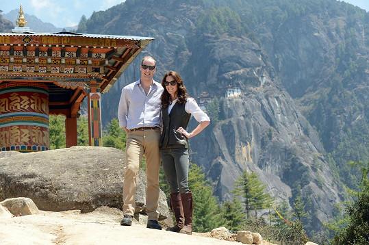 Cestovaly s ní letos i na oficiální návštěvu Bhútánu.
