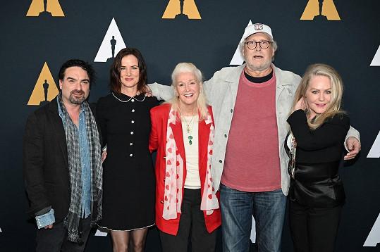 Filmová rodinka se v roce 2019 znovu sešla. Uprostřed herečka a režisérka Diane Ladd