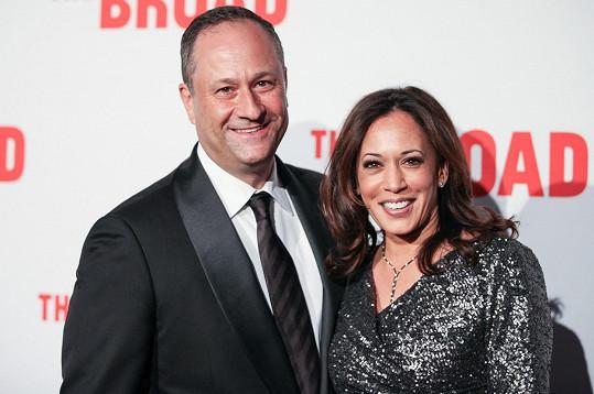 Kamala Harris s manželem Douglasem C. Emhoffem