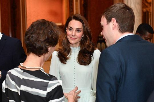Zatímco Kate korzovala mezi hosty a konverzovala...