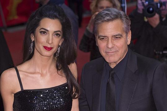 Clooney se stane otcem poprvé.