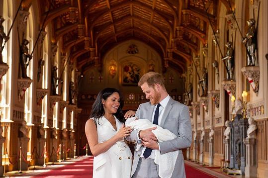Harry a Meghan ukázali syna.