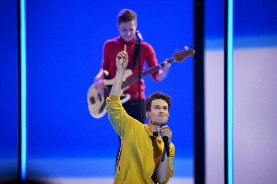 Albert Černý se na Eurovizi probojoval do sobotního finále.
