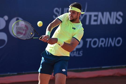 Jiří Veselý je momentálně náš nejlepší tenista.