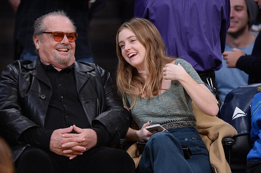 Jack Nicholson s dcerou Lorraine