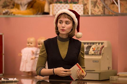 Za vedlejší roli ve filmu Carol je Rooney Mara nominována na Oscara.