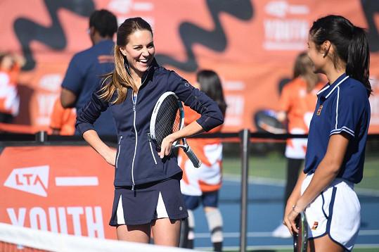 Po výhře na US Open gratulovala osmnáctileté Emmě i královna Alžběta II.