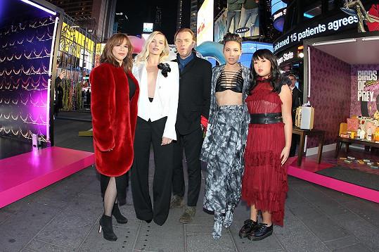 V New Yorku propagovala svůj film Birds Of Prey (Podivuhodná proměna Harley Quinn).