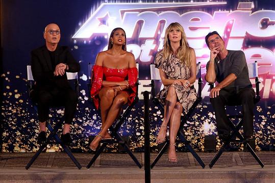 Alesha Dixon aktuálně porotcuje v America´s Got Talent: The Champions